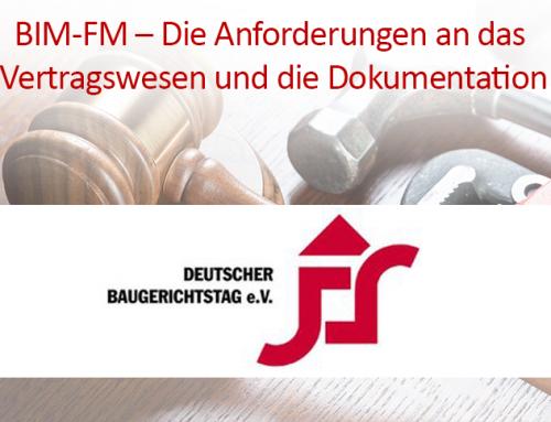04. – 05. Mai 2018 | 7. Deutscher Baugerichtstag | Hamm