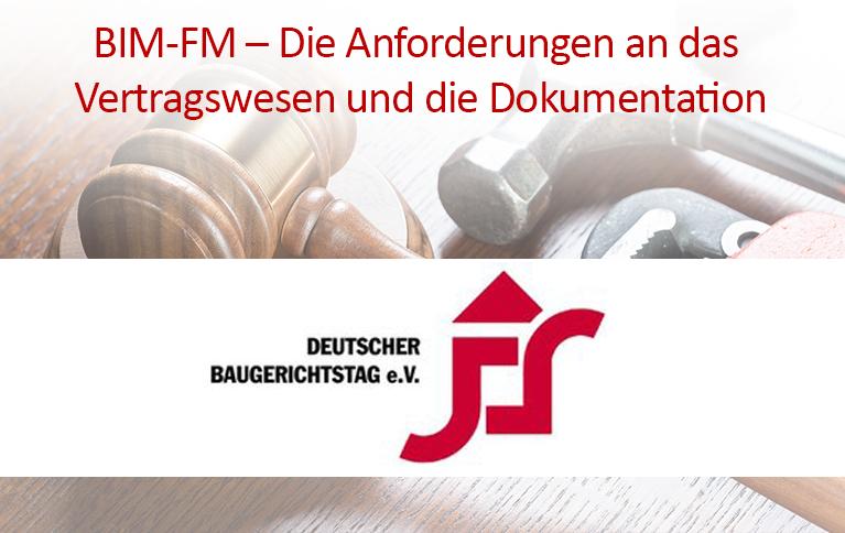 04. - 05. Mai 2018 | 7. Deutscher Baugerichtstag | Hamm