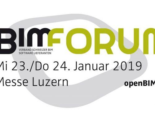 23.-24. Januar 2019 | open BIM Forum | Luzern (CH)