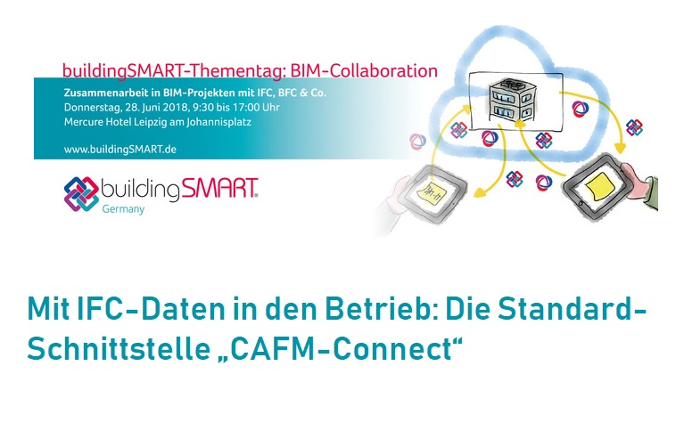 "buildingSMART-Thementag ""BIM-Collaboration"" 