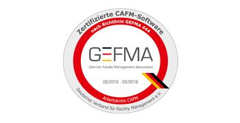 eTASK Zertifikat GEFMA 444