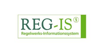 eTASK Zertifikat REG-IS, Regelwerks-Informationssystem