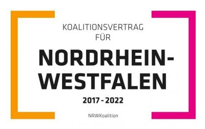 BIM im Koalitionsvertrag NRW