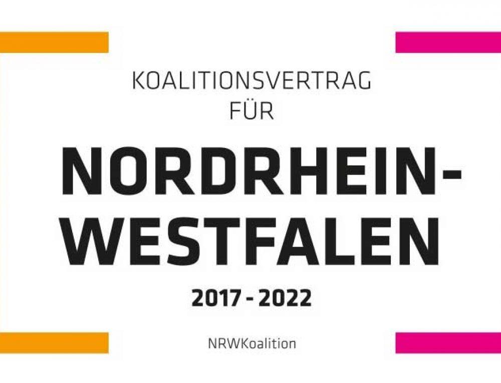 BIM im Koalitionsvertrag von NRW
