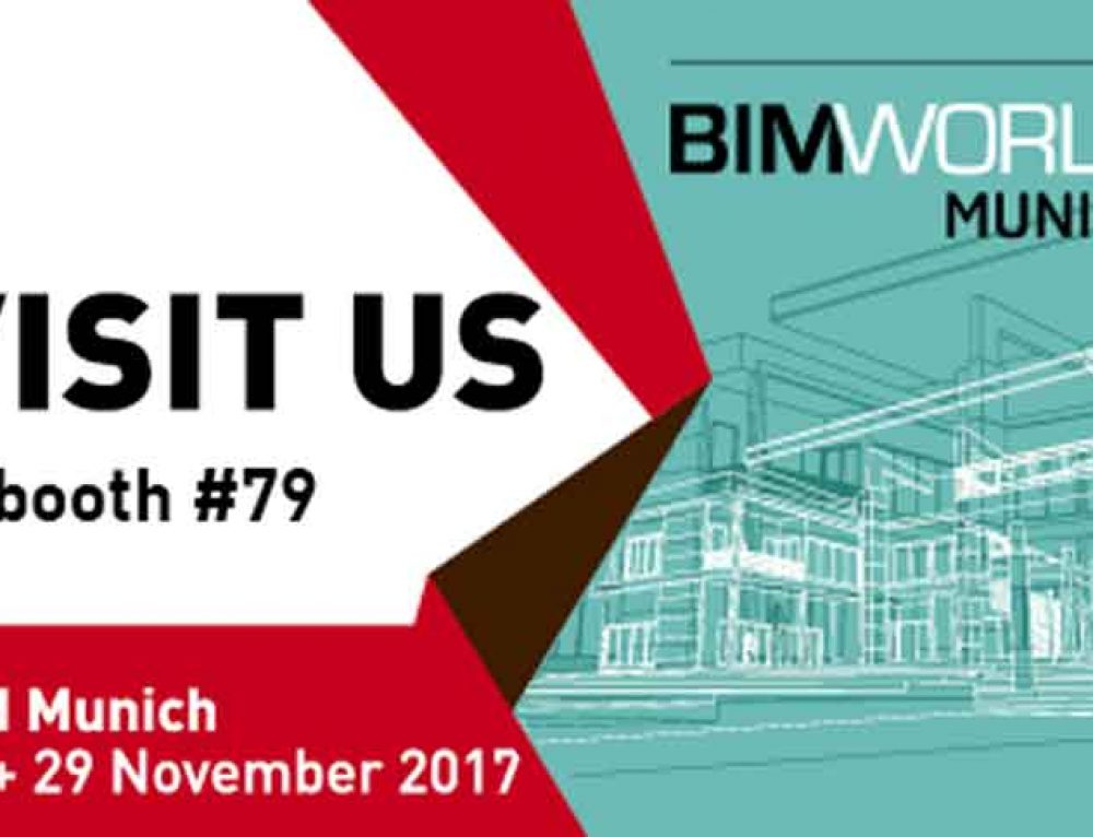 28. – 29. November 2017 |  BIM World 2017 | München