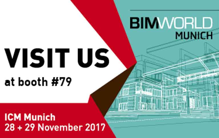 28. - 29. November 2017 |  BIM World 2017 | München