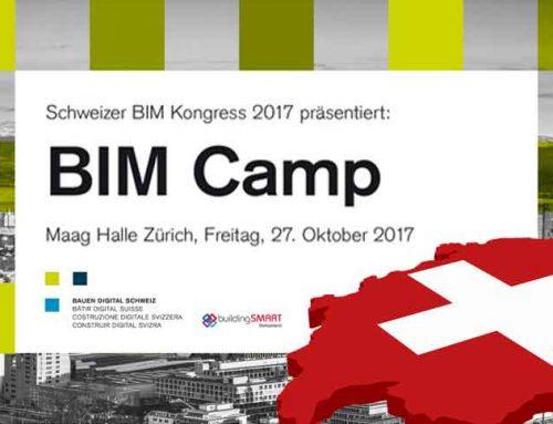"27. Oktober 2017 | Bauen Digital Schweiz ""BIM Camp 2017""  | Zürich (CH)"
